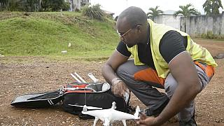 Gabon counters chaotic urbanization with drones