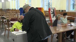 Wahllokal in Berlin