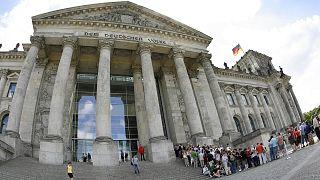 Almanya Federal Meclisi'nin (Bundestag) dış cephesi
