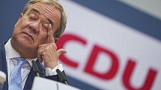 CDU-Chef Armin Laschet am Tag nach der Wahl