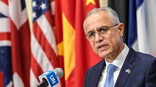 غلام محمد اسحاقزی، نماینده دولت پیشین افغانستان در سازمان ملل