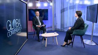 Primeira-ministra da Moldávia defende governo com agenda cidadã