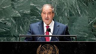 Suriye Dışişleri Bakanı Faysal Mikdad