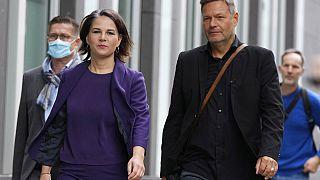 Grünen Co-Chefs Annalena Baerbock und Robert Habeck