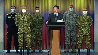 El ministro de Defensa de Colombia comparece tras el ataque a la disidencia de las FARC