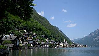 Photo d'illustration : le village de Hallstatt, dans le land de Haute-Autriche, en juillet 2021