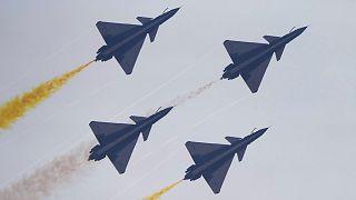 الصين في عرض طيران جوي