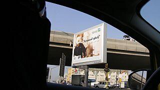 امرأة سعودية تقود السيارة في جدة، المملكة العربية السعودية، الثلاثاء 12 نوفمبر 2019.