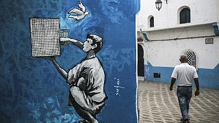 Art flourishes on the walls of Morocco