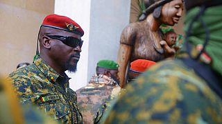 Guinée : le chef de la junte dévoile la charte de transition sans date de fin