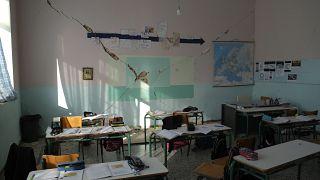 Φωτογραφία από τις ζημιές του σεισμού στην Κρήτη
