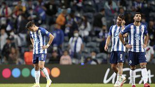 Pepe, Fábio Cardoso e Mehdi Taremi