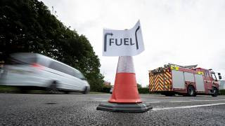 Thousands of British gas stations have run dry
