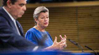 La Commissaire européenne aux Affaires intérieures Ylva Johansson