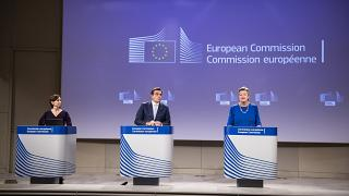press conference on developments under the New Pact on Migration and Asylum