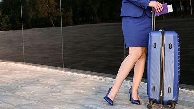Many air hostesses still wear heels 30,000 feet in the air.