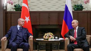 Putin e Erdogan reúnem-se em Sóchi