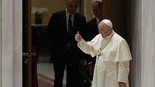 Le Pape François au Vatican le 29 septembre 2021