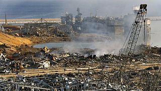 Explosion au port de Beyrouth an août 2020
