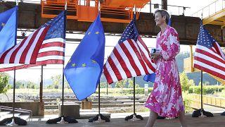 UE e EUA querem cooperar mais em matéria de comércio e tecnologia
