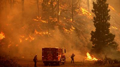 Google says the new wildfire layer will help people pplan their escape from forest fires