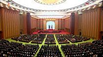 Kim Jong Un attends North Korea parliament session