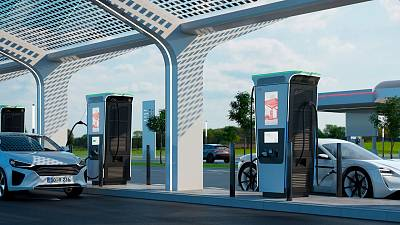 The world's fastest electric car charger has been invented in Switzerland by ABB.