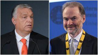 Orbán Viktor és Timothy Garton Ash