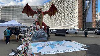 Campaña para prohibir la exportación de residuos plásticos