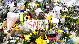 L'hommage à Sarah Everard à Londres le 20 mars 2021