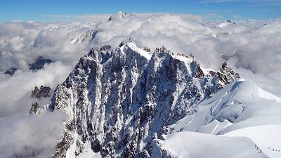 Mont Blanc has been gradually shrinking over the last 20 years.
