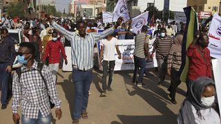 Soudan : manifestation pro-démocratie à Khartoum