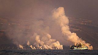Ισπανία: Συνεχίζεται η ηφαιστειακή δραστηριότητα στη Λα Πάλμα