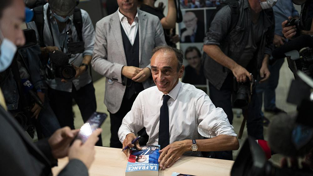 Eric Zemmour: Meet the right-wing TV pundit set to shake up France's presidential race