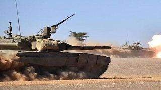 مانور نظامی ایران در منطقه شمال غرب