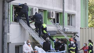 Incêndio em hospital mata nove doentes