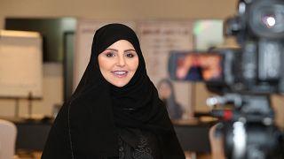 المرشحة إلى انتخابات مجلس الشورى في الدائرة السابعة عشرة لينا ناصر