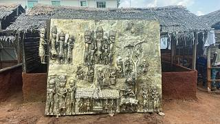 The Bronze plaque created in exchange for looted Nigerian art from the British Museum