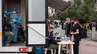 Greece covid tests