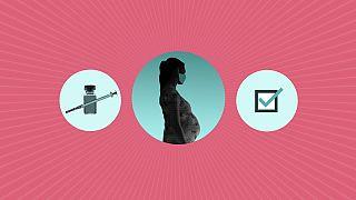 Impfen empfohlen: Schwangere und Frauen in gebährfähigem Alter wird dringend zu einer Impfung gegen Sars-Cov-2 geraten.