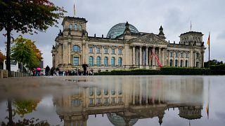 A Bundestag épülete
