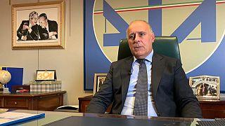 Director of the Anti-mafia Investigation Directorate, Maurizio Vallone.