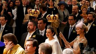 Aristocrats flock to Russia for first royal wedding in century