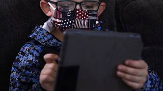 File photo: Children and technology