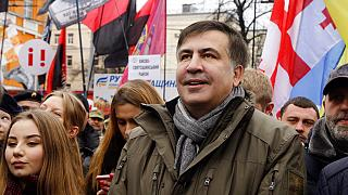 Mijaíl Saakashvili detenido al regresar a Georgia tras ocho años de exilio