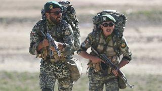 رزمایش ارتش ایران در مرزهای شمالغرب