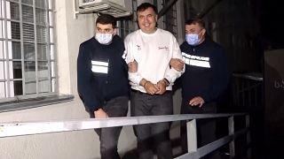 Georgiens Ex-Präsident Saakaschwili festgenommen