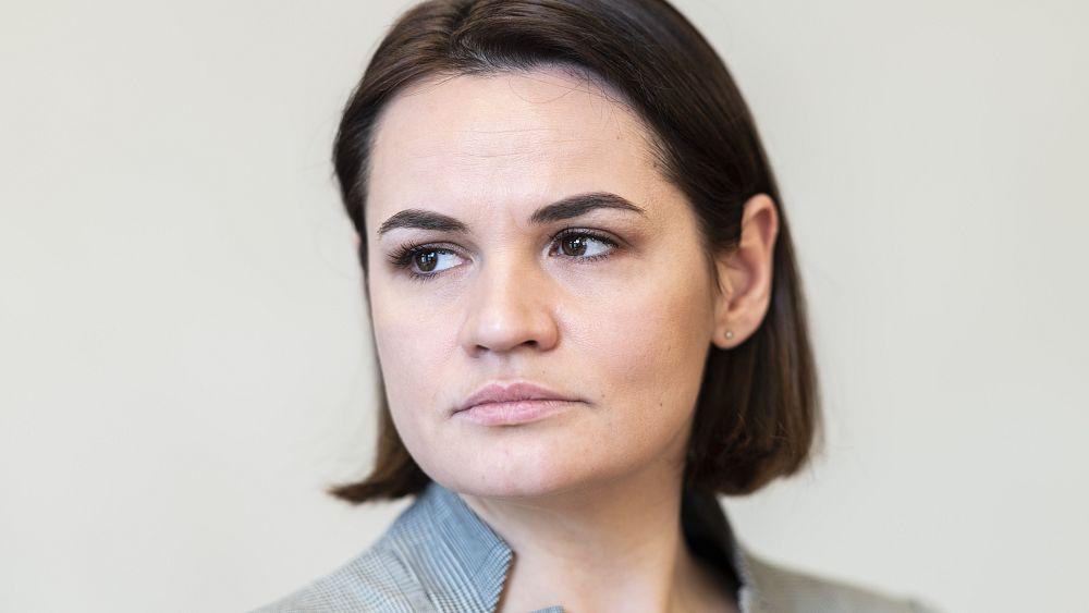 Pemerintah Belarus menggunakan migran untuk memeras Eropa, kata Sviatlana Tsikhanouskaya