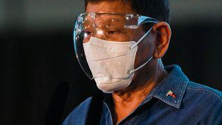 الرئيس الفلبيني رودريغو دوتيرتي. 02/10/2021