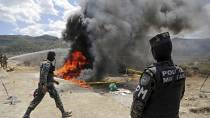 Honduras burns 3.3 tonnes of cocaine seized from cartels